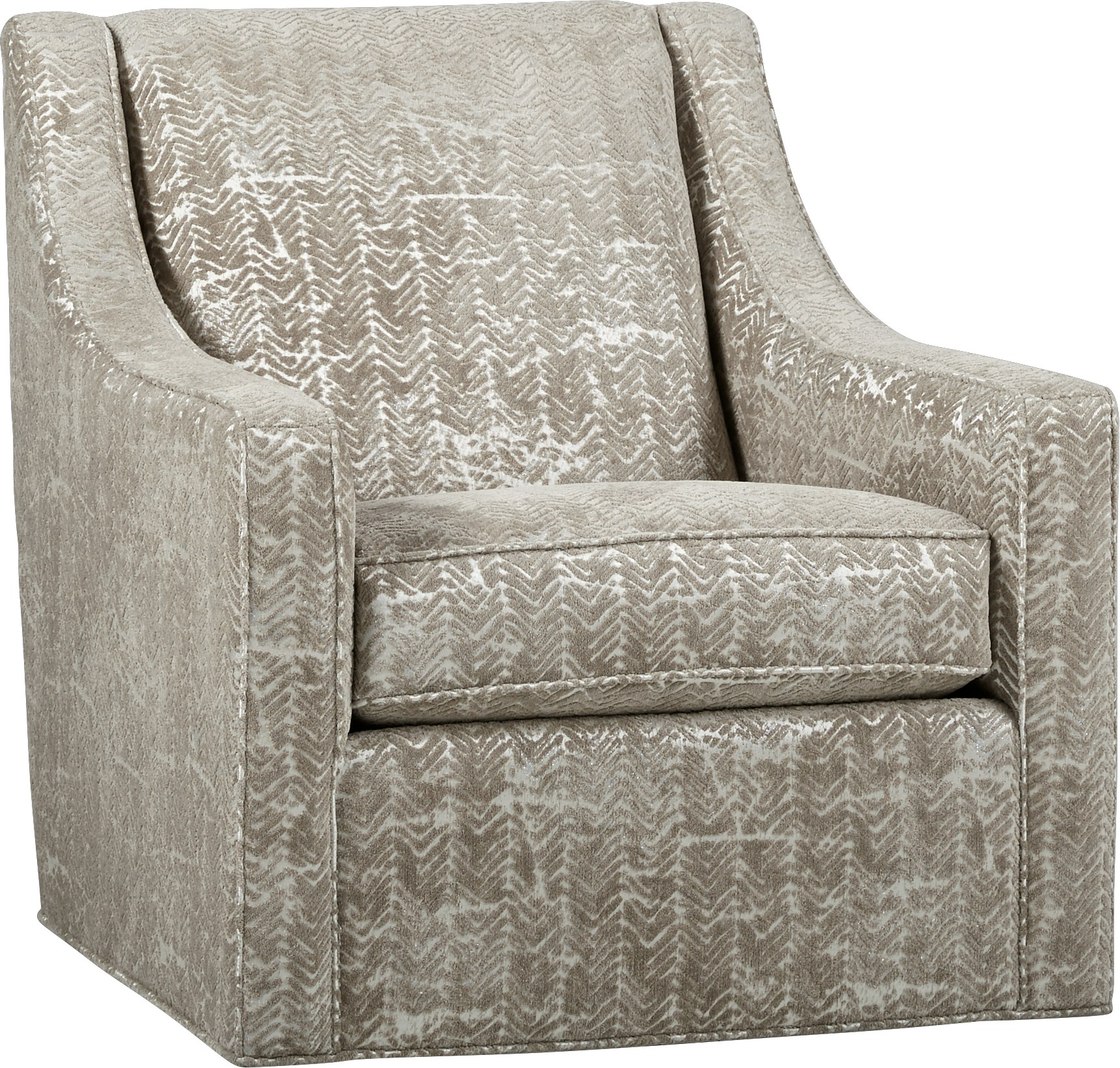 Cindy Crawford Home Pacific Harbor Beige Accent Chair – Accent Intended For Harbor Grey Swivel Accent Chairs (View 7 of 25)
