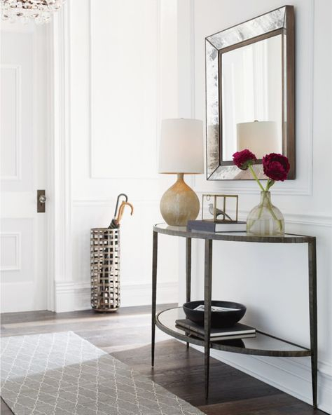 Clairemont Demilune Console Table (Image 2 of 25)