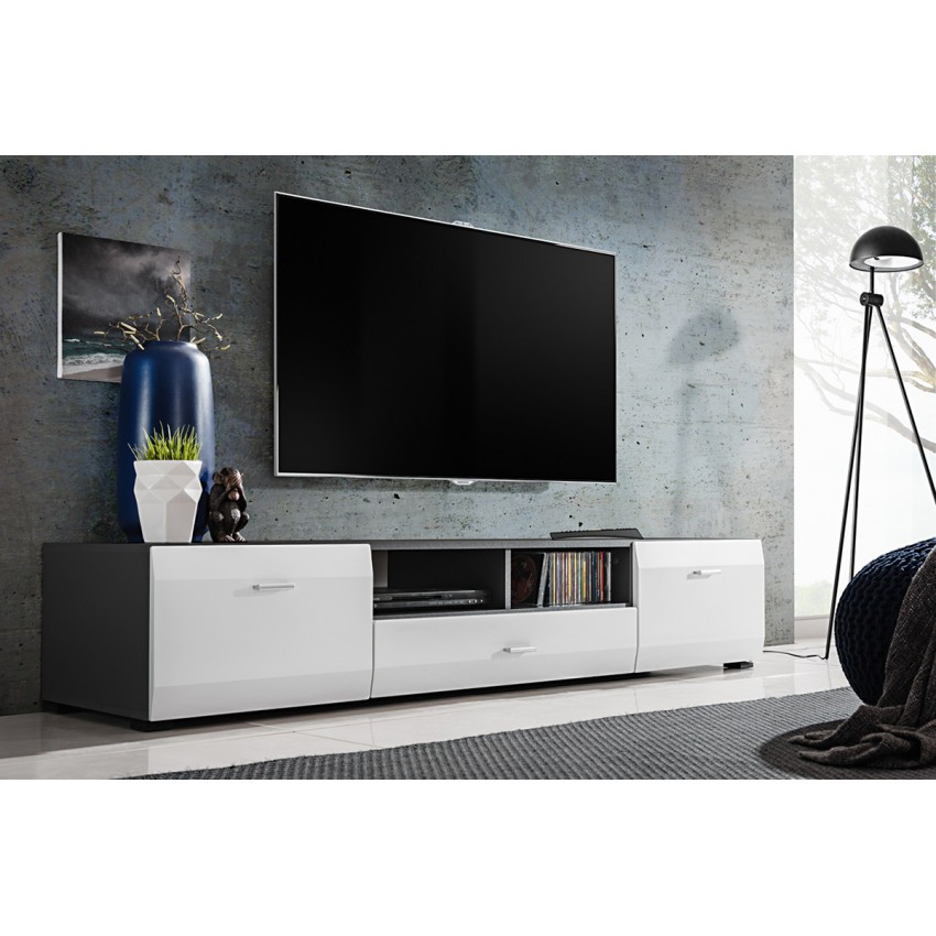 Cliff Tv Stand With Regard To Well Liked Wide Tv Cabinets (Image 7 of 25)