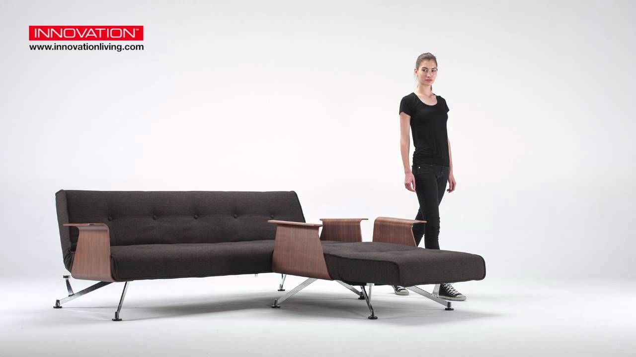 Clubber Sofa Bed & Chair With Arms | Innovation Living | Interior Pertaining To Liv Arm Sofa Chairs (View 20 of 25)