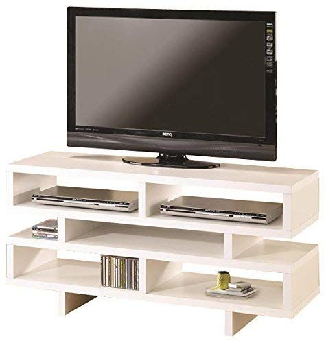 Coaster Home Furnishings Tv Console With 5 Open Storage Compartments Within Best And Newest Rowan 74 Inch Tv Stands (Image 3 of 25)