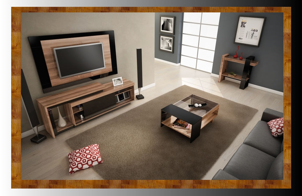 Coffee Table Tv Stand Combo Remarkable Cool Matching And Fanciful In Well Known Coffee Tables And Tv Stands Matching (Image 5 of 25)