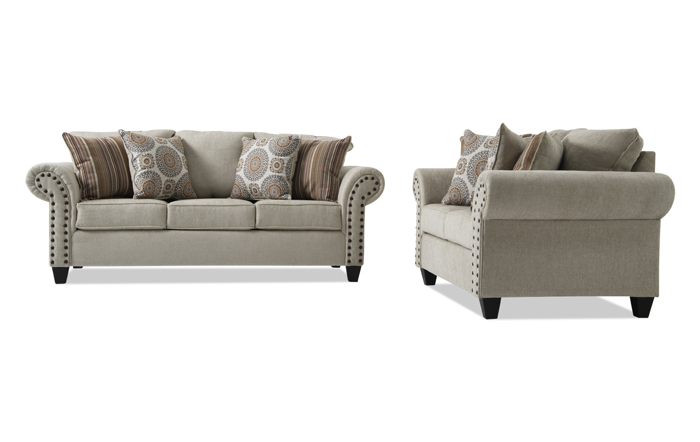 Collections | Living Room Collections | Bob's Discount Furniture In Sierra Foam Ii Oversized Sofa Chairs (Image 3 of 25)