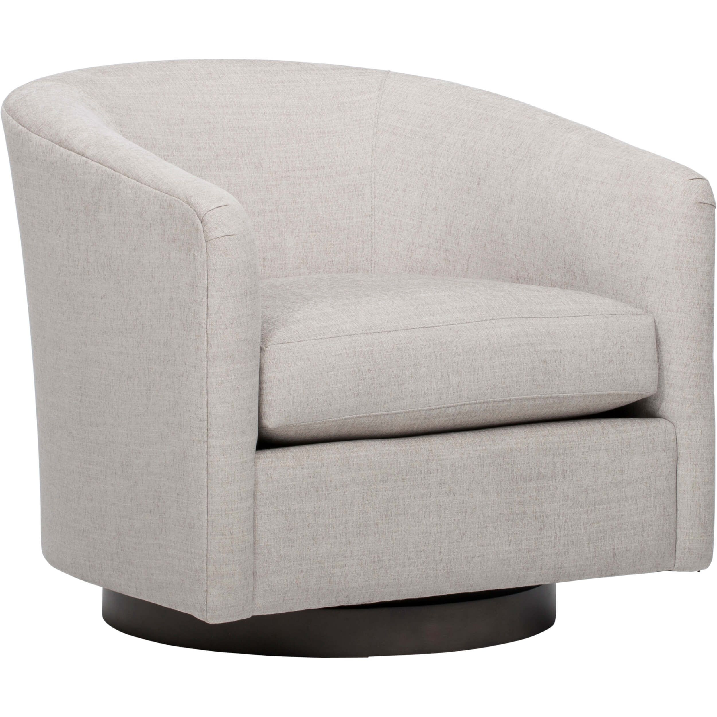 Coltrane Swivel Chair, Dame Feather In 2018 | Bar Harbor Living Room Regarding Harbor Grey Swivel Accent Chairs (Image 8 of 25)
