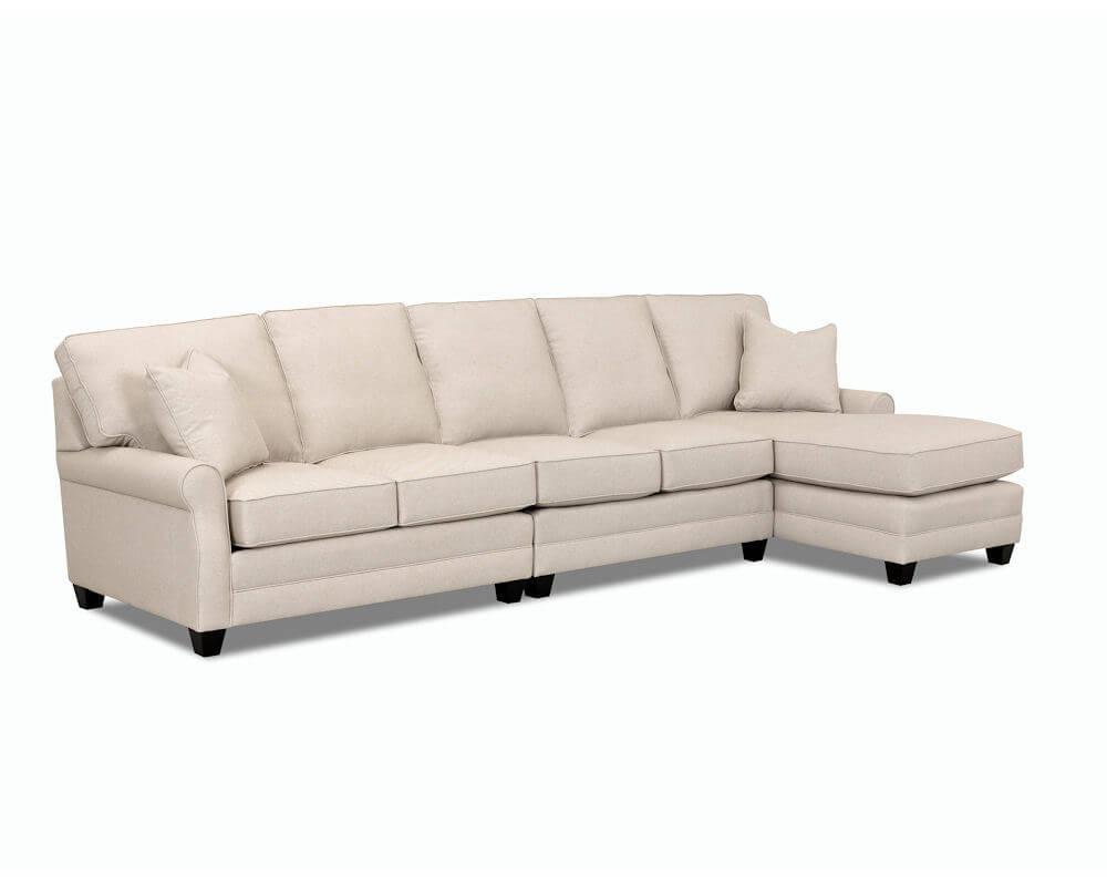 Comfort Design Loft Sectional Cl4032 Loft Sectional Inside Loft Arm Sofa Chairs (View 19 of 25)