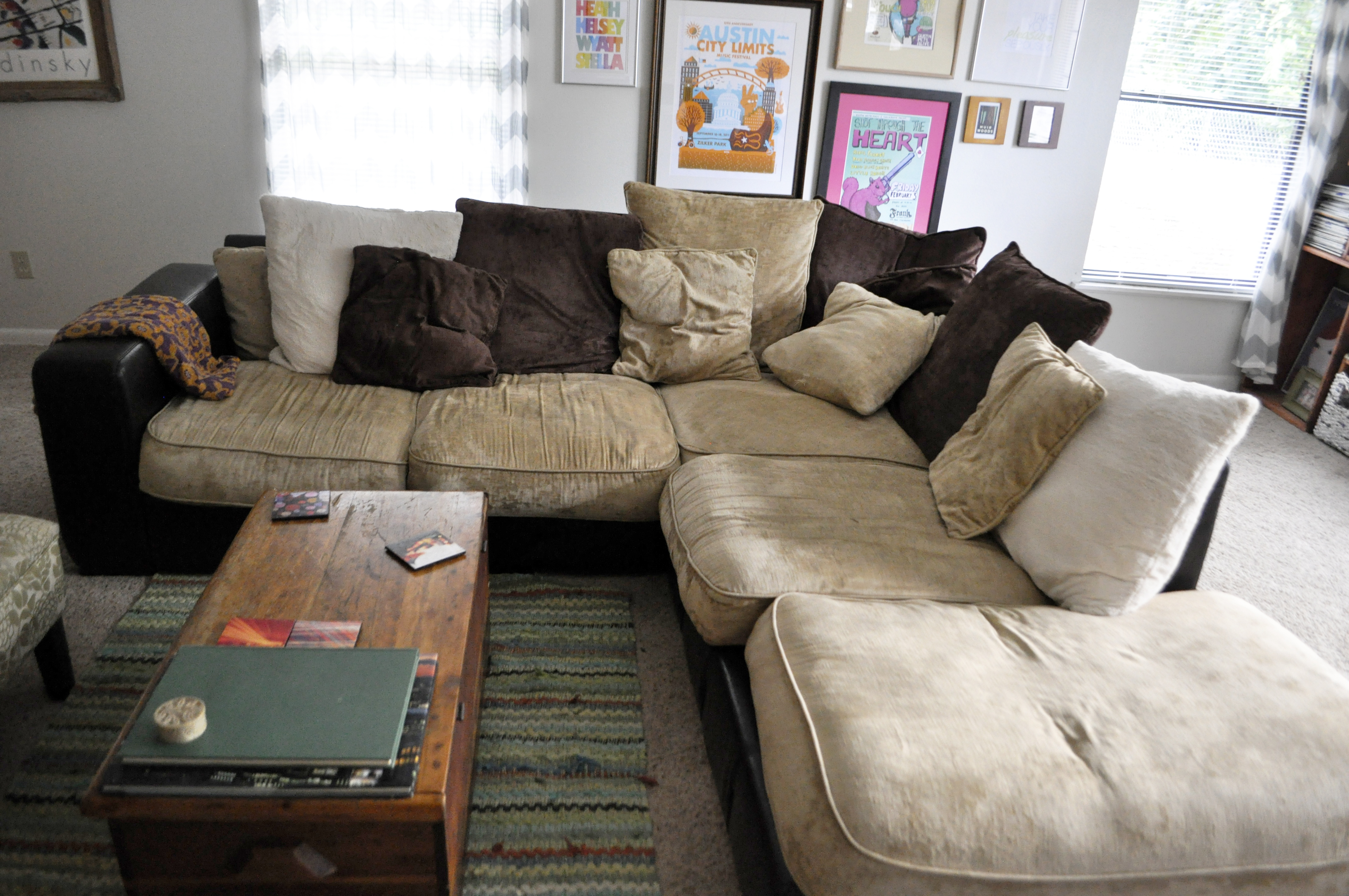 Comfortable Sectional Mid Century Modern Living Room Fortable Sofa For Mcdade Graphite Sofa Chairs (View 12 of 25)