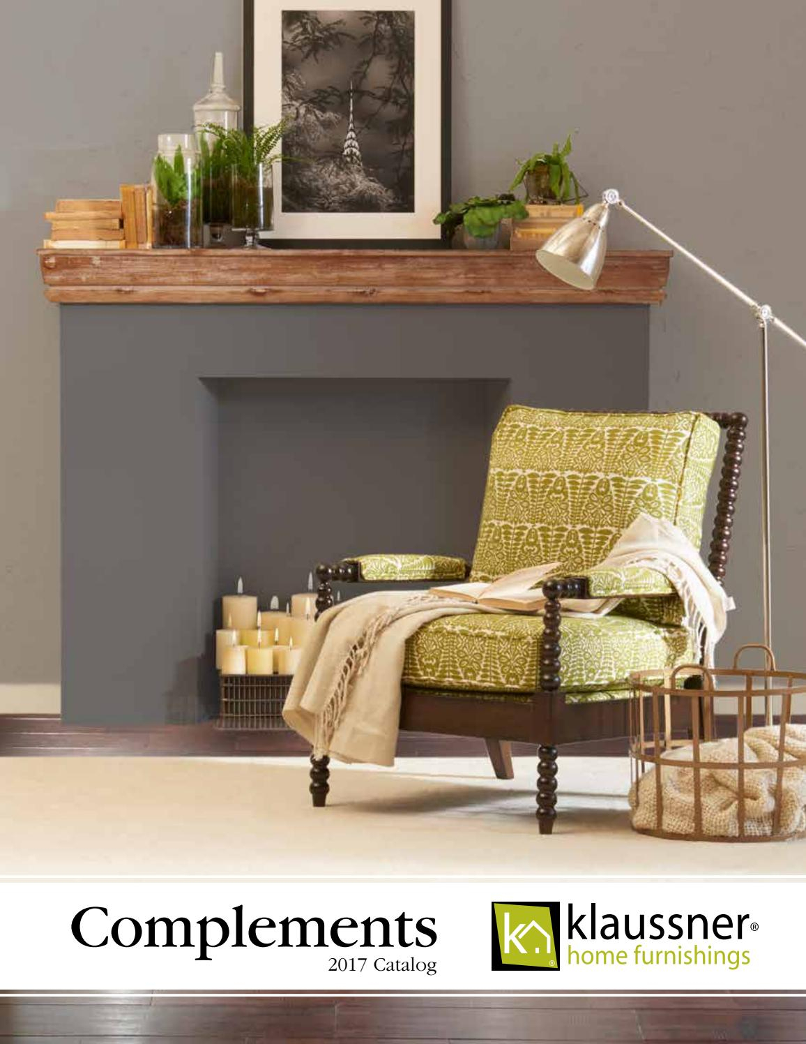 Complements Catalog 110617Klaussner Home Furnishings - Issuu with Bailey Angled Track Arm Swivel Gliders