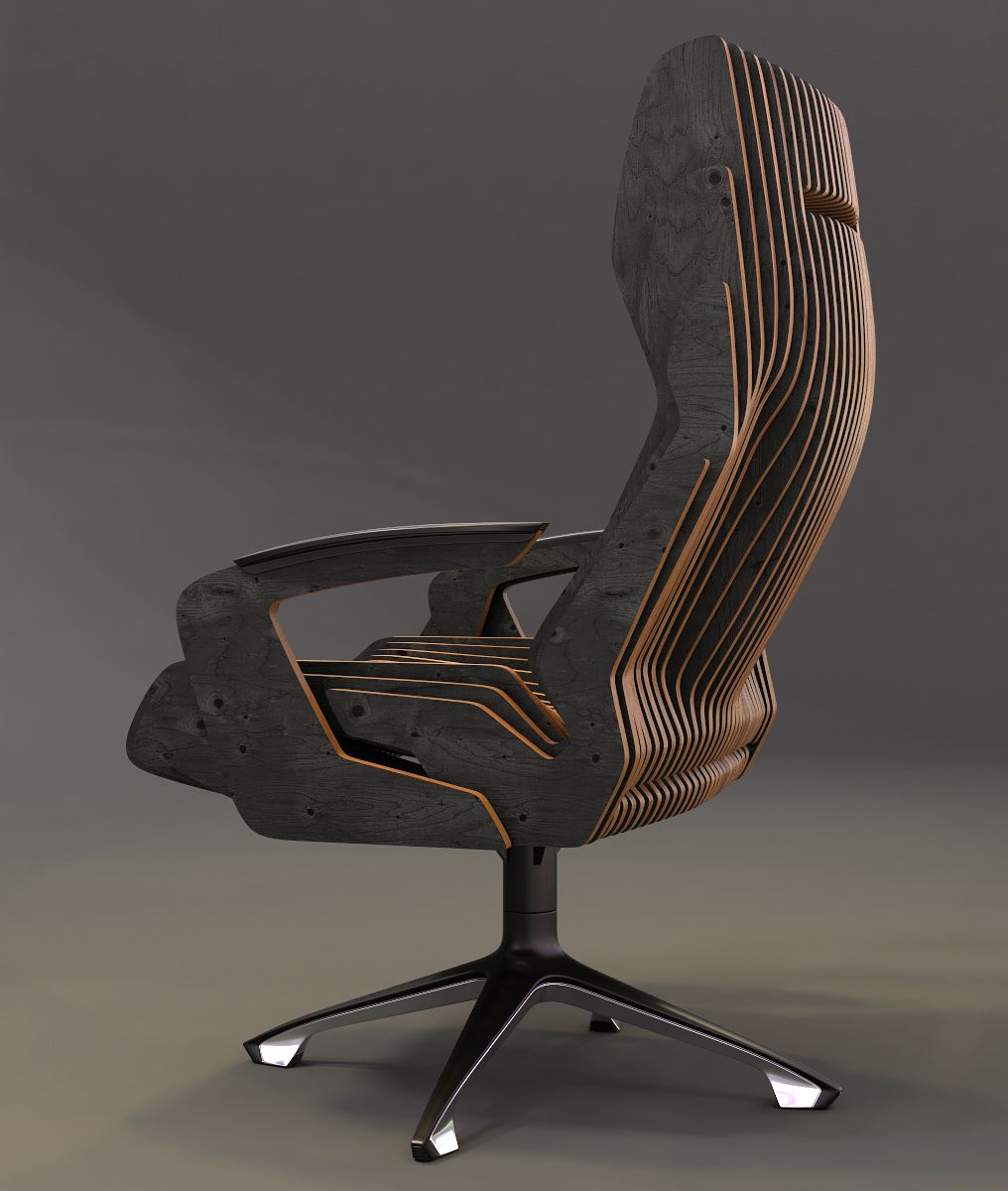 Concept Of A Parametric Chair | General Tips & Ideas | Pinterest With Regard To Revolve Swivel Accent Chairs (Image 4 of 23)