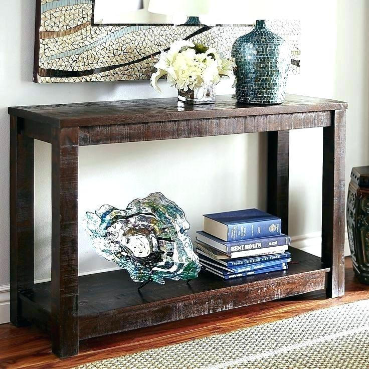 Concrete Parsons Console Table — Terrariumtvshows Inside Well Liked Parsons Concrete Top & Brass Base 48X16 Console Tables (Image 2 of 25)
