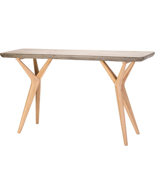 Concrete Top Console Table Tremendous Parsons Dark Steel Base 48X16 Pertaining To Most Recently Released Parsons Concrete Top & Stainless Steel Base 48X16 Console Tables (Image 12 of 25)