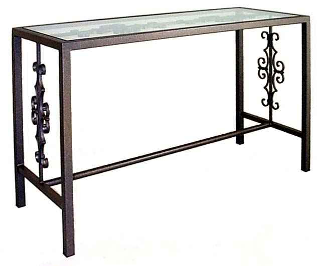 Console And Sofa Tables For Most Up To Date Roman Metal Top Console Tables (Image 9 of 25)