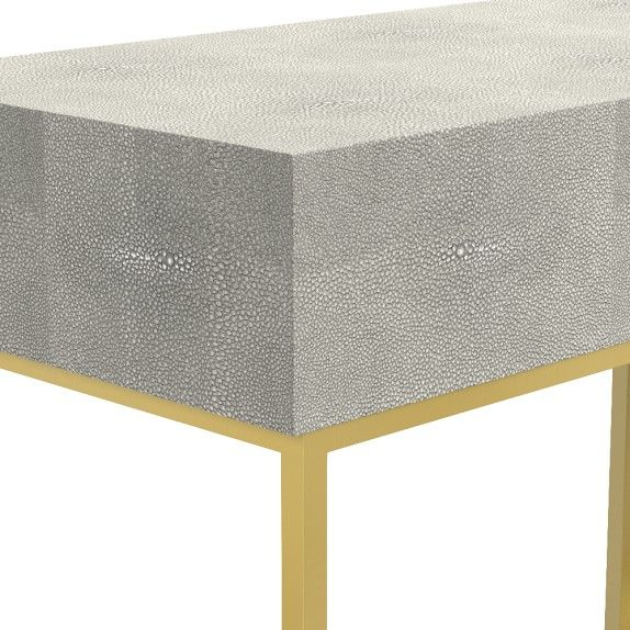Console Table Inside Preferred Faux Shagreen Console Tables (View 15 of 25)