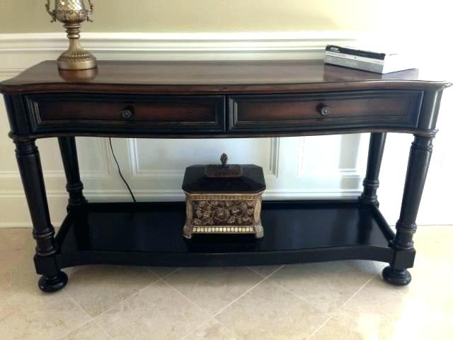 Console Table Watercress Springs Estate Sales Moving Sale Small Sofa With Popular Ethan Console Tables (Image 5 of 25)