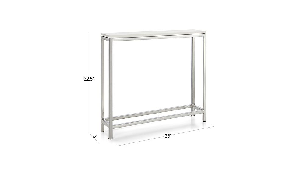 Console Tables, Consoles And Crates With Regard To Newest Era Glass Console Tables (Image 4 of 25)