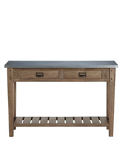 Console Tables, Consoles And Metals (Image 11 of 25)