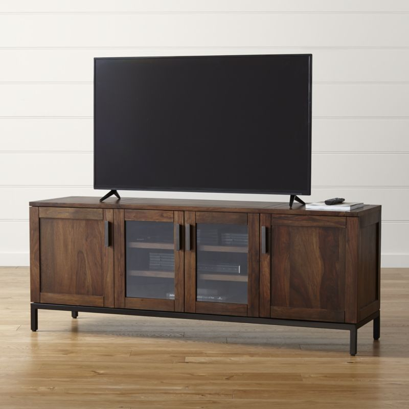 Consoles, Crates And Play Houses Pertaining To Best And Newest Wyatt 68 Inch Tv Stands (View 2 of 25)