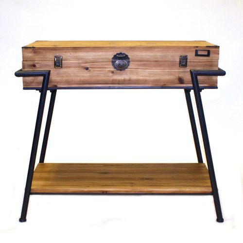 Consoles For Most Current Parsons Walnut Top & Elm Base 48X16 Console Tables (Image 3 of 25)