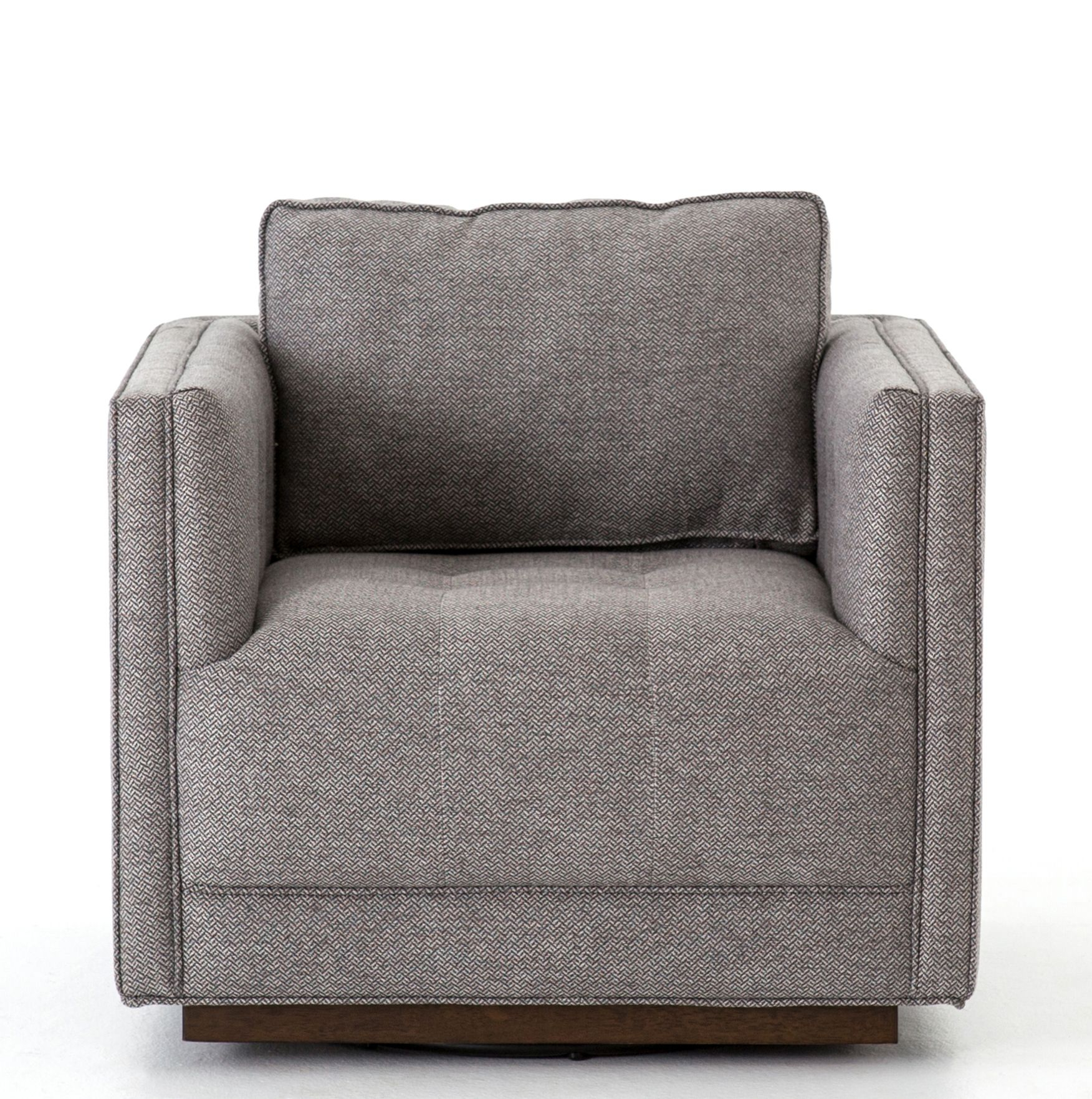 Constance Swivel Chair, Greystone In 2018 | New House – Interior Pertaining To Aidan Ii Swivel Accent Chairs (View 19 of 25)