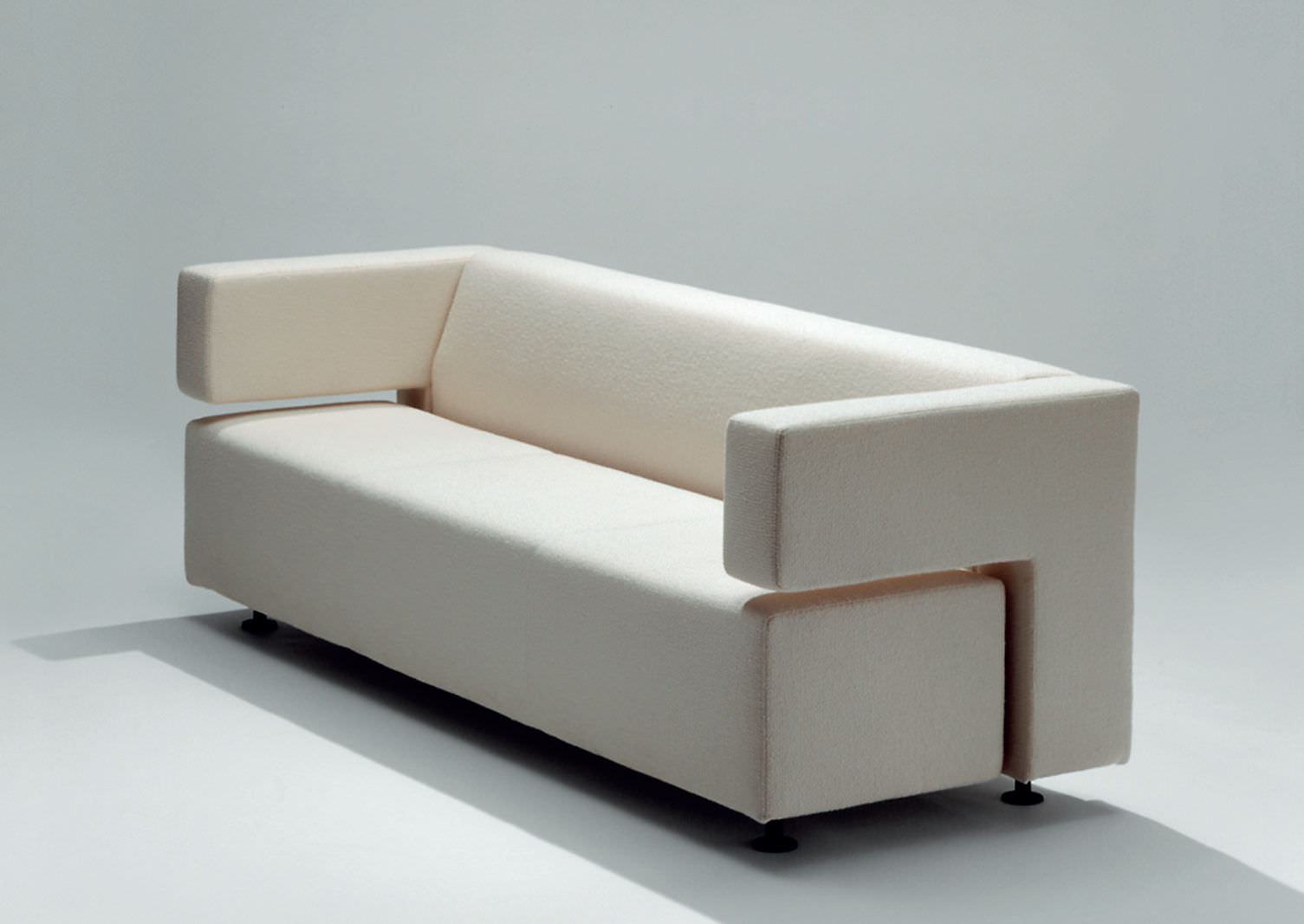 Contemporary Sofa / Leather / Fabric / 2 Person – Milojouko Pertaining To Milo Sofa Chairs (View 18 of 25)