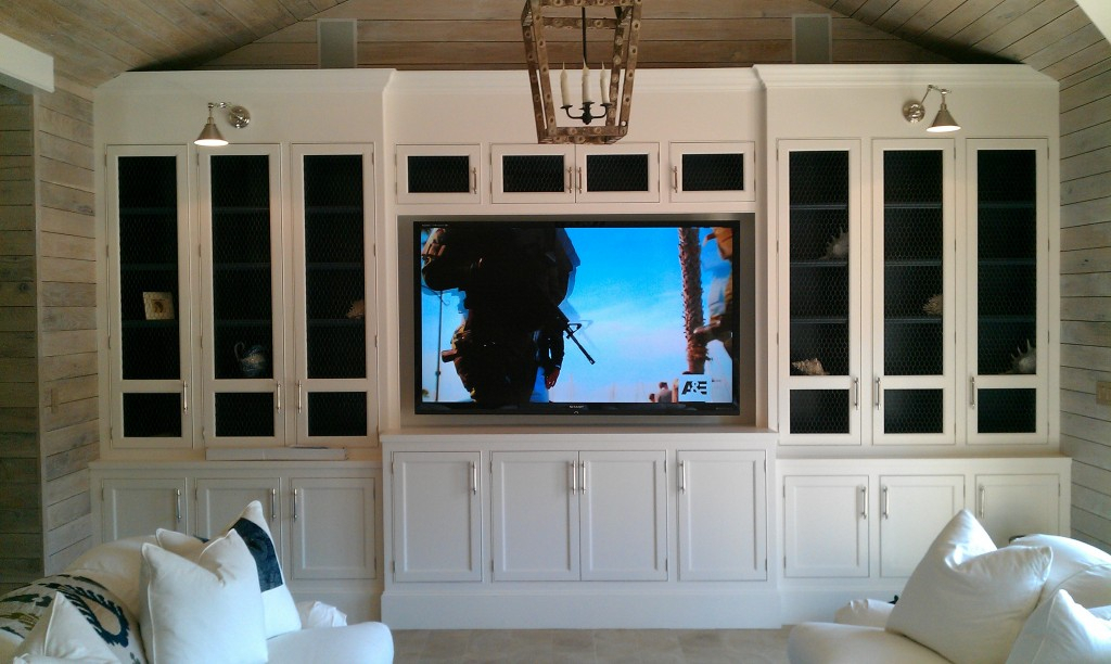 Contemporary White Cabinet With Glass Doors For Tv Cabinets With Regarding Well Known Tv Cabinets With Glass Doors (Photo 21 of 25)