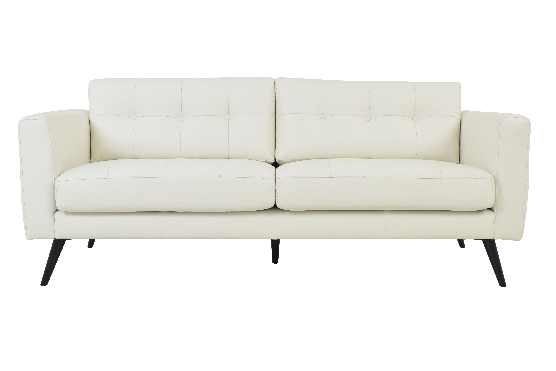 Corrigan Studio Gordon Leather Sofa | Wayfair With Regard To Gordon Arm Sofa Chairs (View 13 of 25)