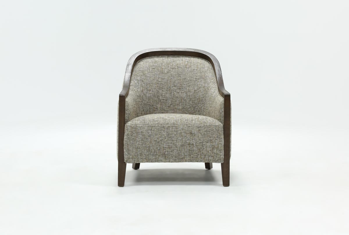 Cosette Accent Chair | Living Spaces Inside Cosette Leather Sofa Chairs (Image 5 of 25)