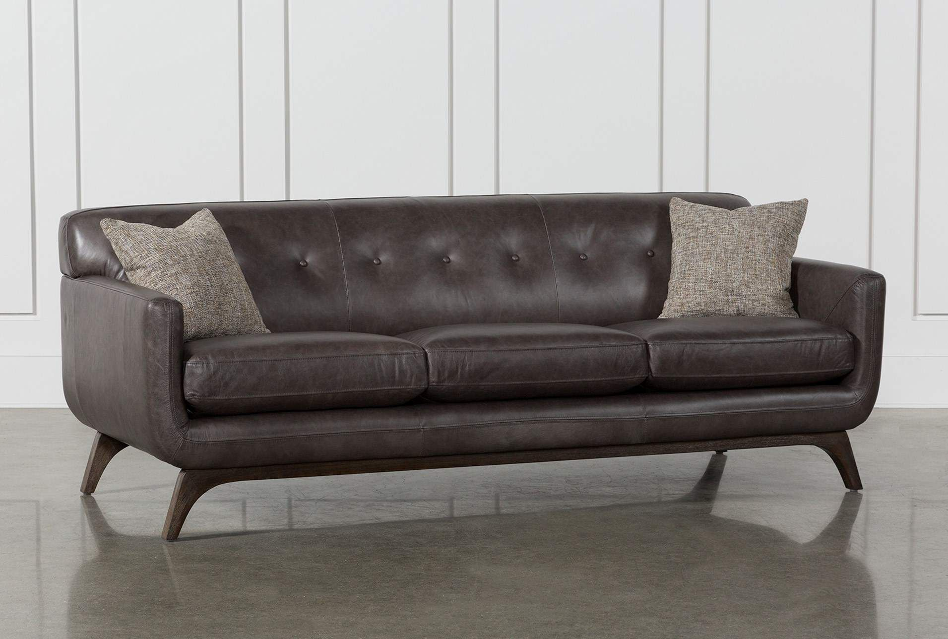 Cosette Leather Sofa In 2018 | Parkview | Pinterest | Sofa, Leather Intended For Matteo Arm Sofa Chairs By Nate Berkus And Jeremiah Brent (Image 4 of 25)