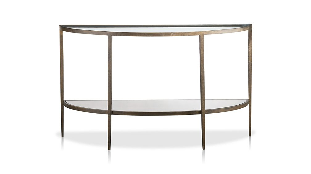 Featured Image of Clairemont Demilune Console Tables