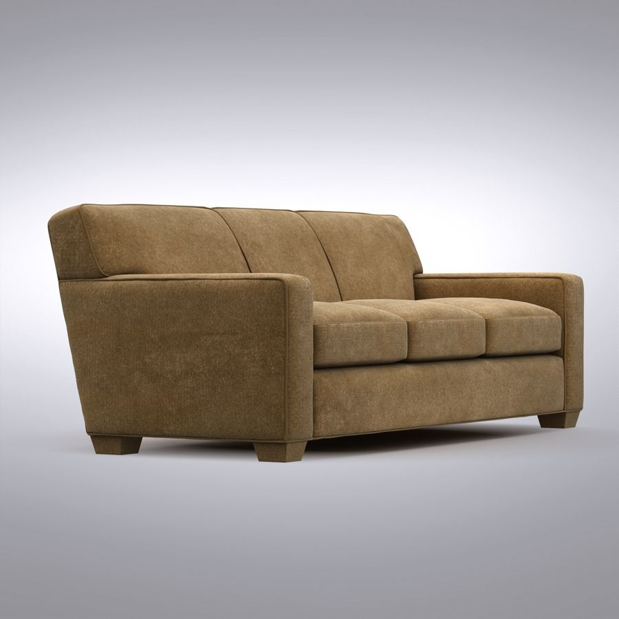 Crate And Barrel – Cameron Sofa 3D Model $39 –  (Image 20 of 25)