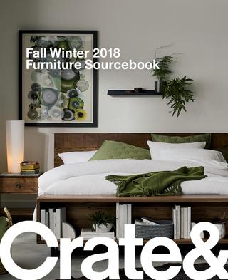Crate And Barrel Fall Winter 2018 Furniture Sourcebookcrate And In Trendy Clairemont Demilune Console Tables (View 25 of 25)