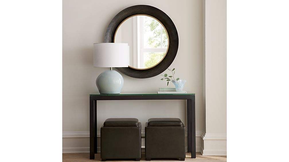 Crate And Barrel In Barrel Console Table (Image 11 of 25)