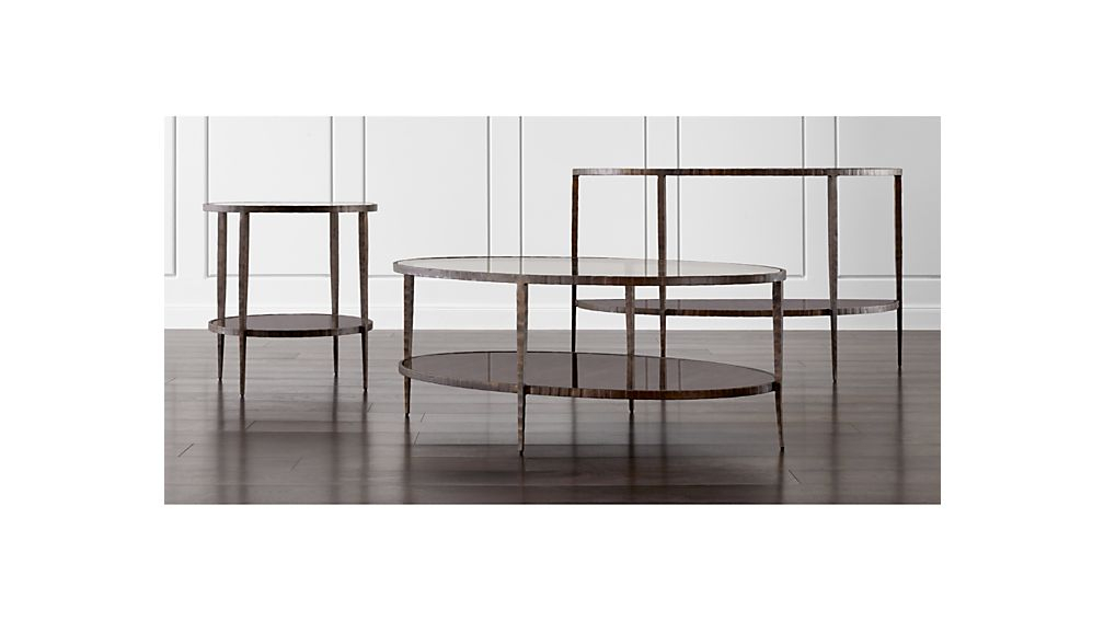 Crate And Barrel Throughout Popular Clairemont Demilune Console Tables (View 4 of 25)