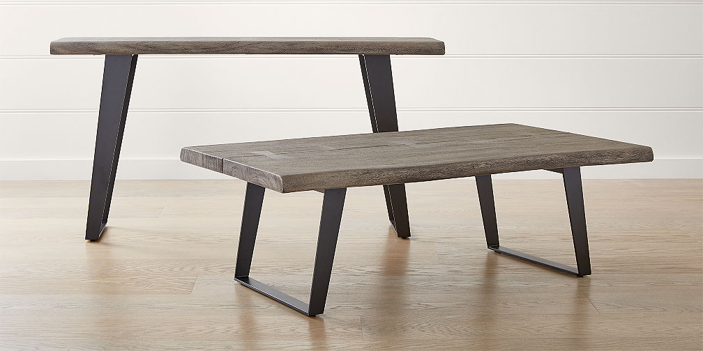 Crate And Barrel With Regard To Favorite Parsons Walnut Top & Dark Steel Base 48X16 Console Tables (View 12 of 25)