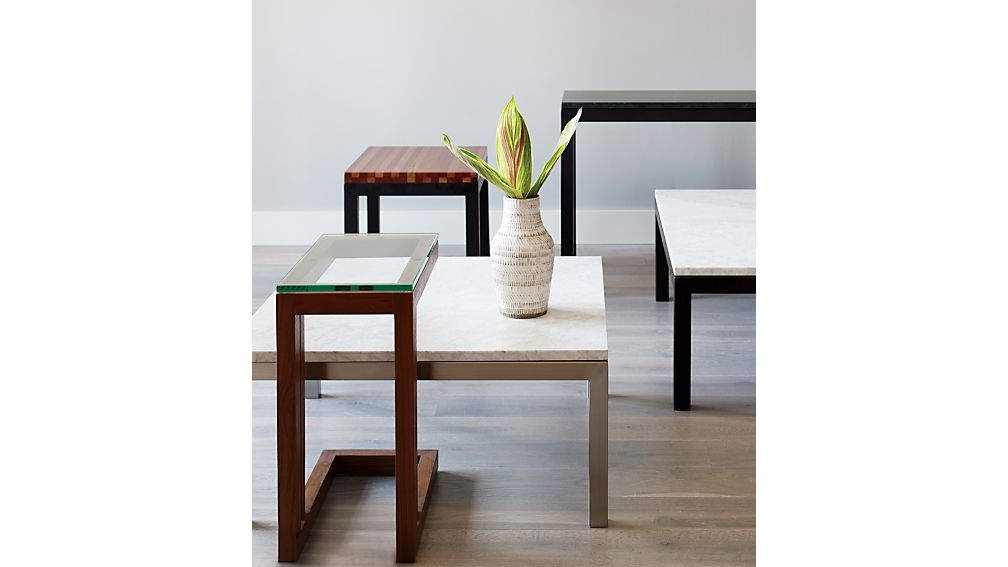 Crate And Within Well Known Parsons White Marble Top & Brass Base 48X16 Console Tables (Image 7 of 25)
