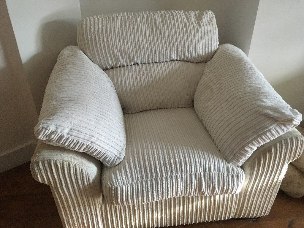 Cream Arm Chair | In Exeter, Devon | Gumtree Pertaining To Devon Ii Arm Sofa Chairs (View 7 of 25)