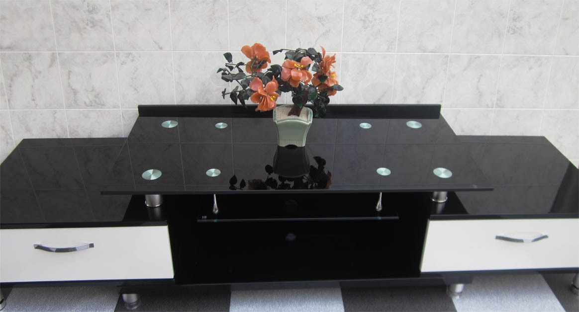 Current Black Tv Cabinets With Drawers Pertaining To Black Tv Entertainment Unit With White Drawers Sydney Warehouse (View 25 of 25)