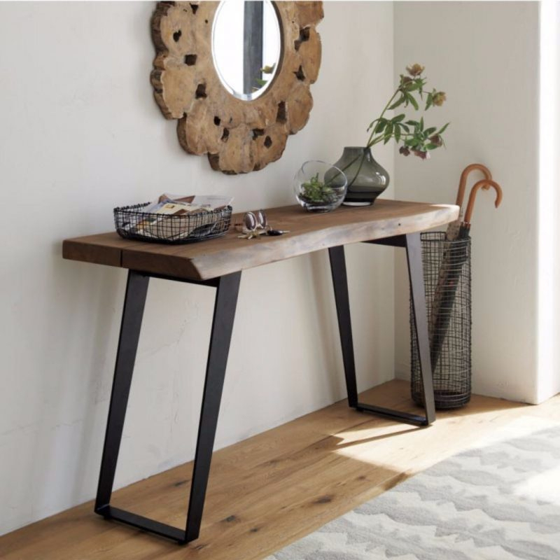 Current Echelon Console Tables With Console Table: Crate And Barrel Console Table Crate Barrel Nash (Image 6 of 25)