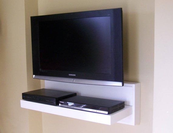 """Current Forma 65 Inch Tv Stands For 30"""", 36"""", 42"""" Floating A/v Component Shelf – Tv Stand, Wall Console (Image 5 of 25)"""