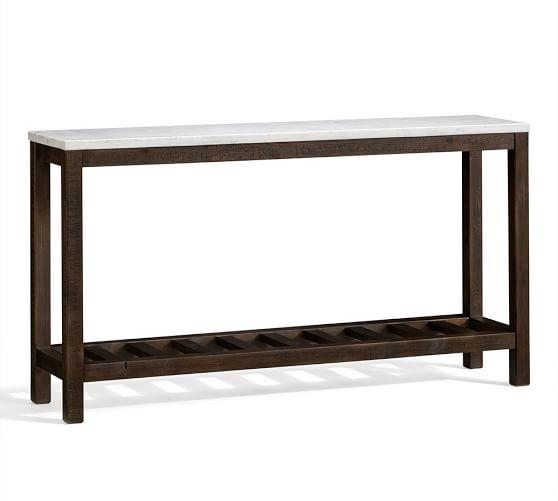 Current Intarsia Console Tables Intended For Intarsia Brown And Ivory Console Table (Image 11 of 25)