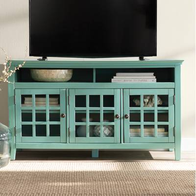 "Current Marvin Rustic Natural 60 Inch Tv Stands With Beachcrest Home Naples Park Tv Stand For Tvs Up To 55"" & Reviews (Image 7 of 25)"