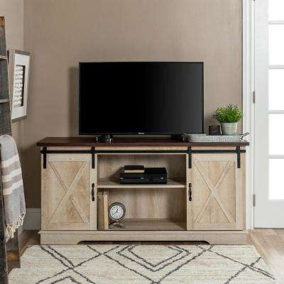 Current Oak Furniture Tv Stands Within Oak – Tv Stands – Living Room Furniture – The Home Depot (View 22 of 25)