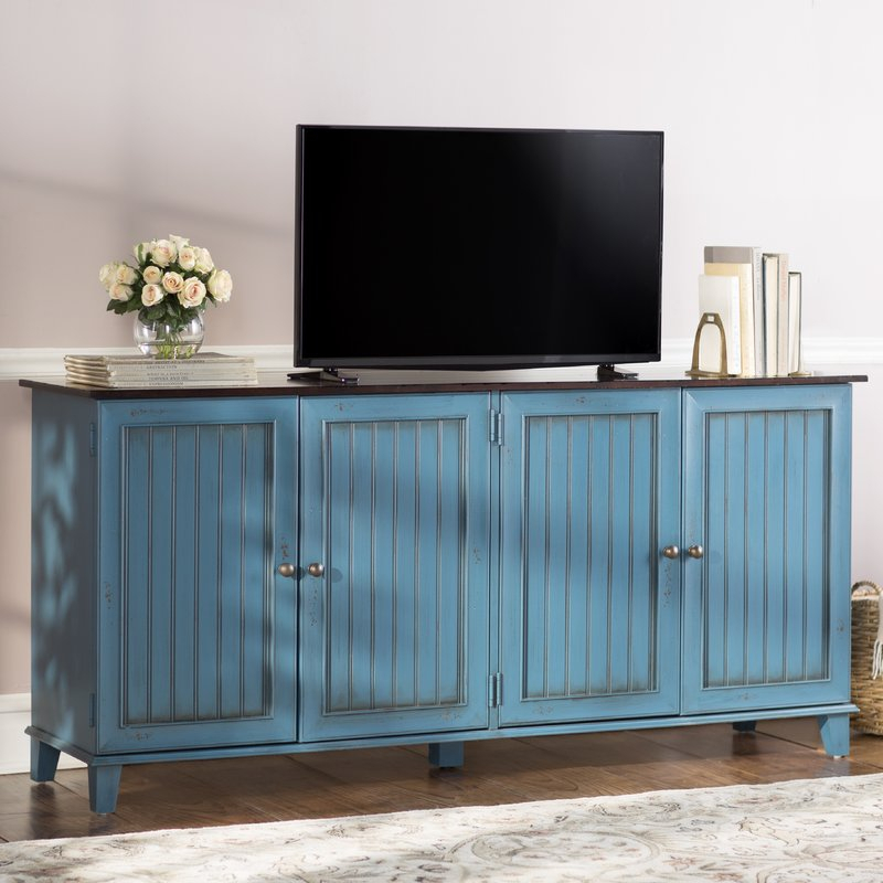 "Current Sideboard Tv Stands Regarding Breakwater Bay Jarosz Deluxe 72"" Tv Stand Sideboard & Reviews (View 5 of 25)"