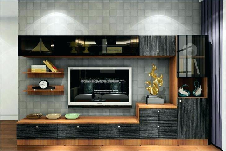 Current Tv Wall Cabinets In Decoration: Modern Wall Unit Design Tv Mount Furniture (Image 5 of 25)
