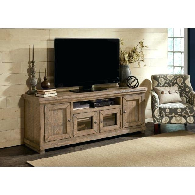 Current Walton 74 Inch Open Tv Stands Pertaining To 74 Tv Console Harbor View Linen Entertainment Wall With Console (Image 10 of 25)