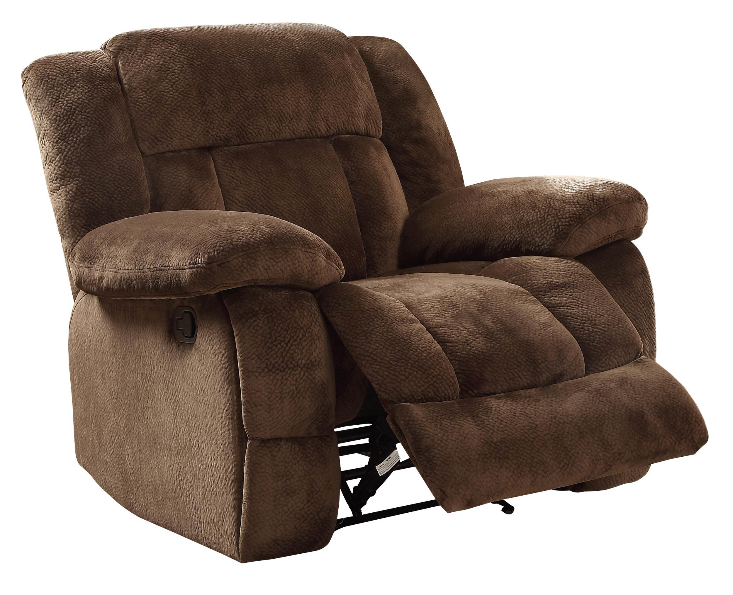Darby Home Co Dale Manual Glider Recliner & Reviews | Wayfair With Regard To Dale Iii Polyurethane Swivel Glider Recliners (Image 9 of 25)