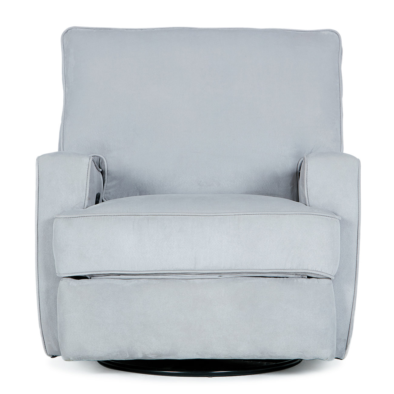 Darby Home Co Finck Manual Swivel Recliner | Wayfair Intended For Dale Iii Polyurethane Swivel Glider Recliners (Image 10 of 25)
