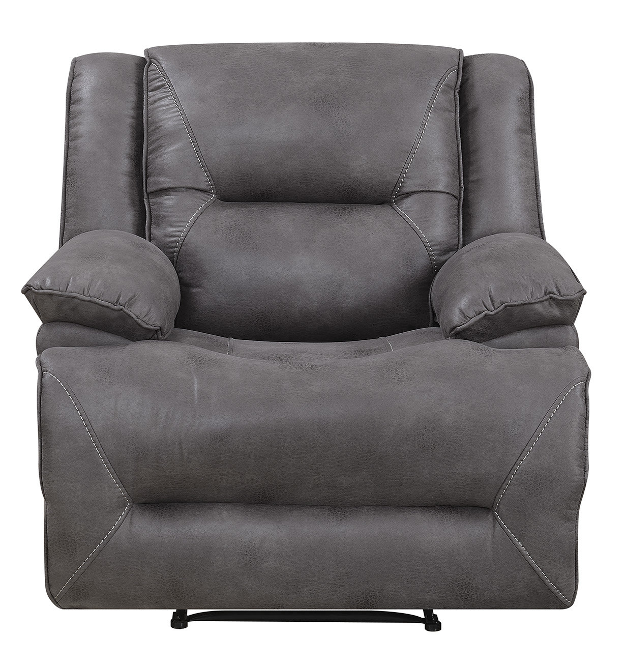 Darby Home Co Finlay Recliner | Wayfair Throughout Dale Iii Polyurethane Swivel Glider Recliners (Image 11 of 25)