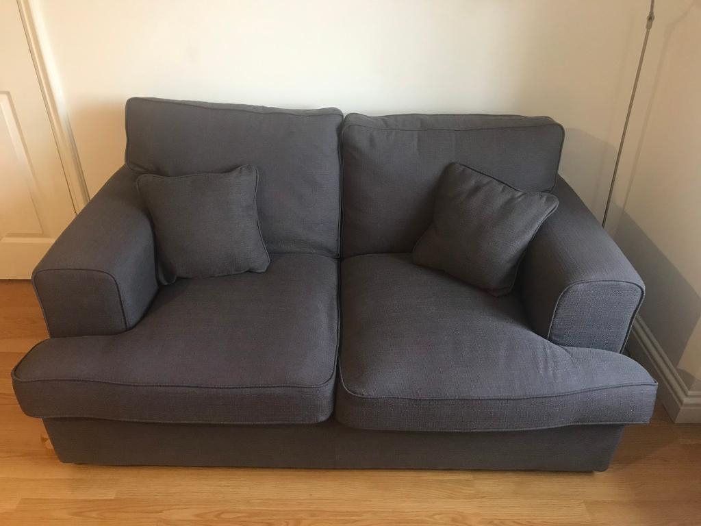 Dark Grey 2 Seater Sofa – Great Condition | In South Croydon, London With Regard To London Dark Grey Sofa Chairs (View 12 of 25)