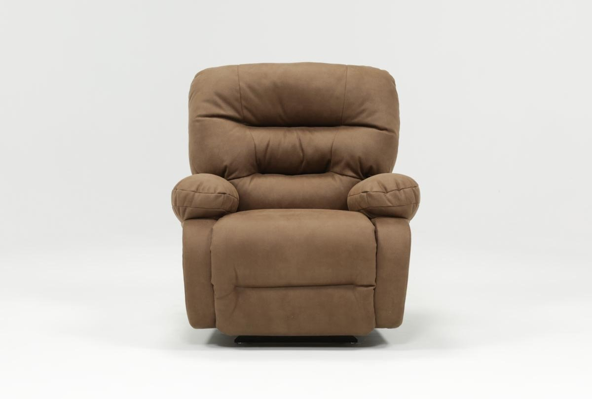 Decker Ii Fabric Power Rocker Recliner | Living Spaces With Decker Ii Fabric Swivel Rocker Recliners (Image 6 of 25)
