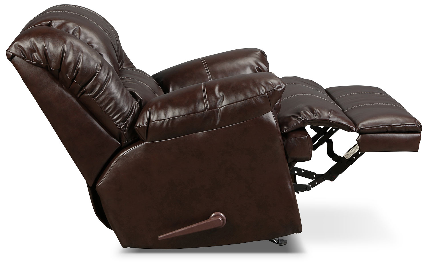 Decker Recliner – Brown | Intended For Decker Ii Fabric Swivel Glider Recliners (Image 5 of 25)